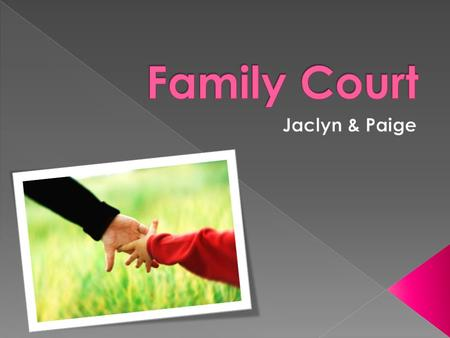  The Family Court of Australia is a superior court of record established by Parliament in 1975 under Chapter 3 of the Constitution  The Court's goal.