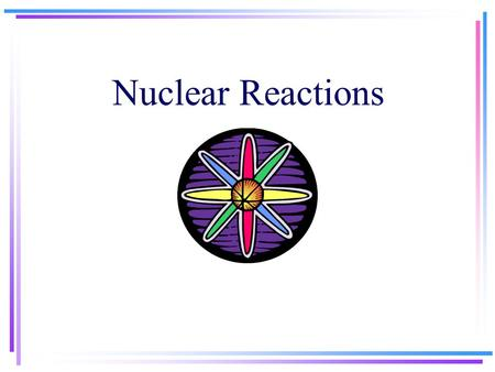 Nuclear Reactions. Nuclear Decay Song on Youtube Animation of Alpha, Beta, Gamma rays on youtubeAnimation of Alpha, Beta, Gamma rays on youtube radioactive.