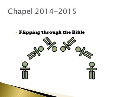 " Flipping through the Bible.  Ephesians 6:17b ""…the sword of the Spirit, which is the Word of God."""