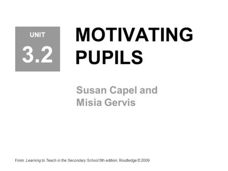 Susan Capel and Misia Gervis