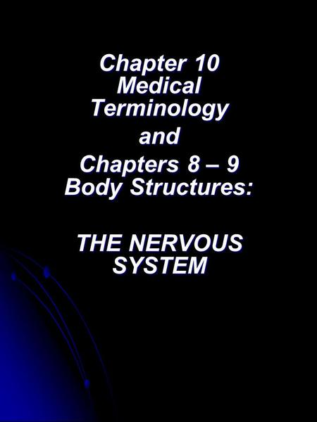 chapter 8 medical terminology Introduction to medical terminology emphasizes learning medical terminology by word part and usage and is organized by body systems  chapter 8  140: digestion  147:.