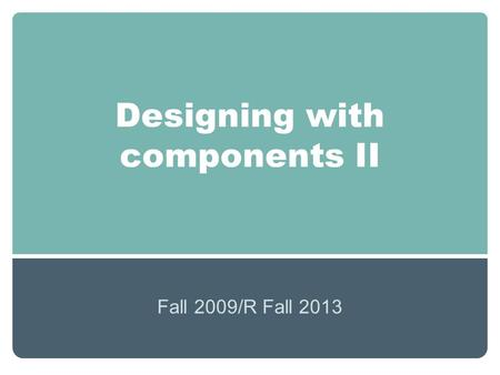 Senior Design I Project Summer B Overview Objectives Constraints Possible Components Ppt Download
