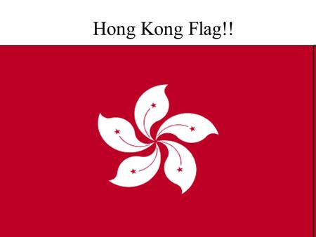 Hong Kong Flag!!. People Population 7.0 million Population growth rate 0.8%. Ethnic groups: Chinese 95%; other 5%. Religions: About 43% participate in.