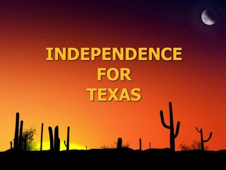 INDEPENDENCE FOR TEXAS. MAP: Do Now (pg. 485) ◊Label the Following: Republic of Texas Mexico Red River Nueces River U.S Gulf of Mexico Rio Grande Shade.