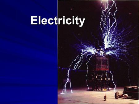 Electricity. Recall Electron: negatively charged fundamental particle Proton: positively charged fundamental particle Static electricity: build up of.