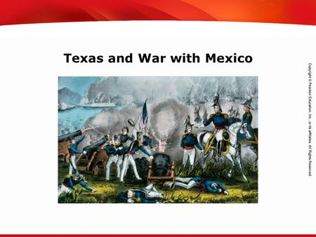 TEKS 8C: Calculate percent composition and empirical and molecular formulas. Texas and War with Mexico.