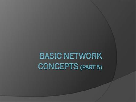 guide to networking essentials 7th edition chapter 7 review questions