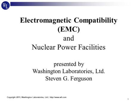 Electromagnetic Compatibility (EMC) and