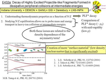 E432a: Decay of Highly Excited Projectile-like Fragments Formed in dissipative peripheral collisions at intermediate energies 1.Understanding thermodynamic.