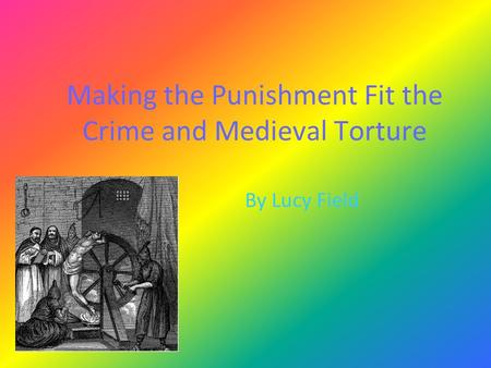 making punishment fit the crime You are here: home  opinion  debate forum  debate 6/5: does the punishment fit the crime debate forum,  making it even less clear and concise.