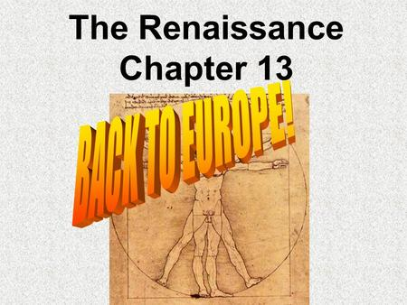 The Renaissance Chapter 13. Start Up Why is this the most famous painting in the world?