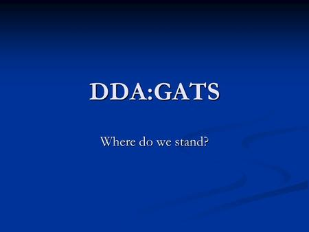DDA:GATS Where do we stand?. INTRODUCTION Growing importance of services sector in the economies of developing countries. Growing importance of services.