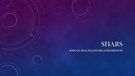 School Health and Related services