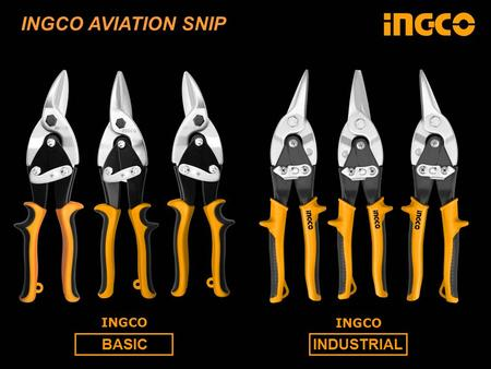 BASICINDUSTRIAL INGCO INGCO AVIATION SNIP. INGCO Basic HRC 46 HRC 36-42 HRC 46-48 HRC 58-62 NORMAL HRC 40 HRC 60 INGCO Industrial HRC 60 STANLEY INGCO.