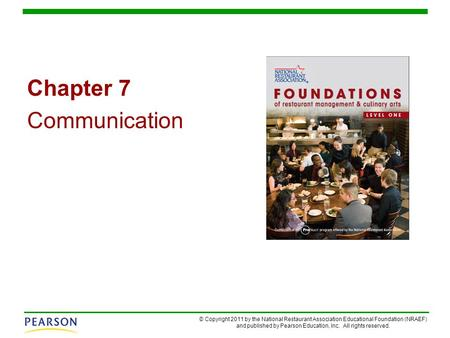 Chapter 7 Communication.