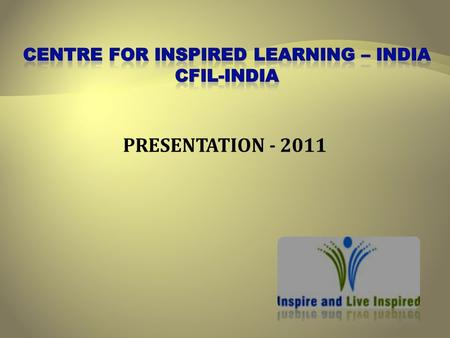PRESENTATION - 2011.  Training, Facilitation & Consultation organisation  Mission:  To inspire a million lives  To make a permanent difference to.