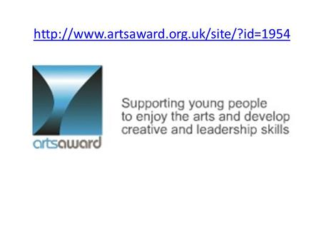 Arts Award: Explore Now offered at CMS in Year 5! This award is accredited as an Entry Level 3 qualification.