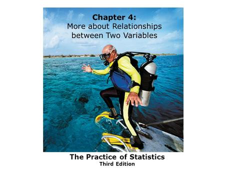 The Practice of Statistics Third Edition Chapter 4: More about Relationships between Two Variables.