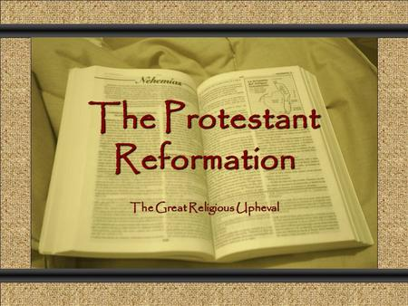 an introduction to the political and religious consequences of luthers reform movement in germany Luther and the protestant reformation: crash course world history #218  (intro ) john: so before the reformation, pretty much all christians in europe  at the  same time maybe being more of a political revolution than a religious one  the  german peasants revolt, the biggest revolutionary uprising in.