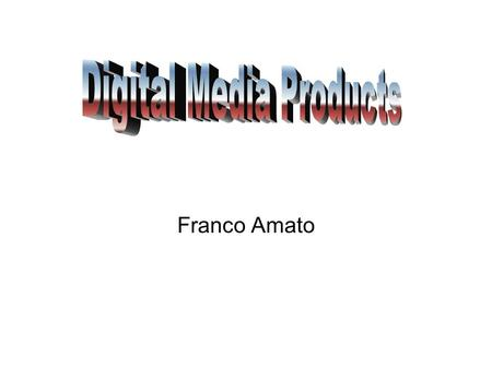 Franco Amato. CD-Rom CD-ROM (Compact Disc, read-only-memory) is an adaptation of the CD that is designed to store computer data in the form of text and.