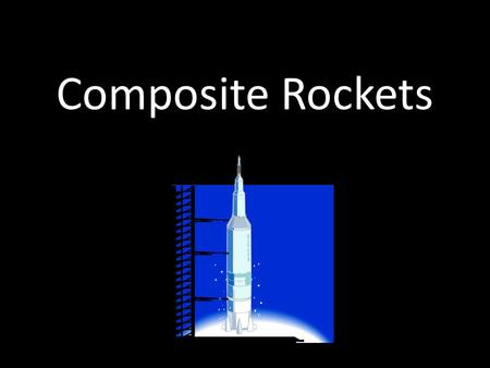 Composite Rockets. Rocket Design The rocket should be designed and tested in a rocket simulation software. Rocket should then be modeled in Autodesk Inventor.
