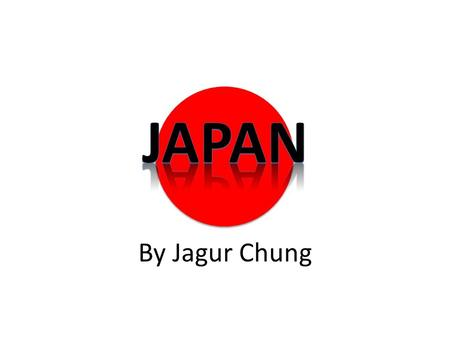 By Jagur Chung. Japan has two different flags, the main one being the one behind theses words. The other was mainly used during World War 2.