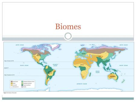 Biomes. Blue Marble Photograph (pg.6) Blue Marble Photograph What did you observe in this photograph? What do you wonder about? How can 13 million different.