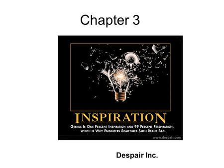 Chapter 3 Despair Inc.. POLYMERIZATION KINETICS REVIEW.