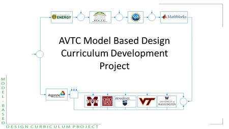 AVTC Model Based Design Curriculum Development Project.
