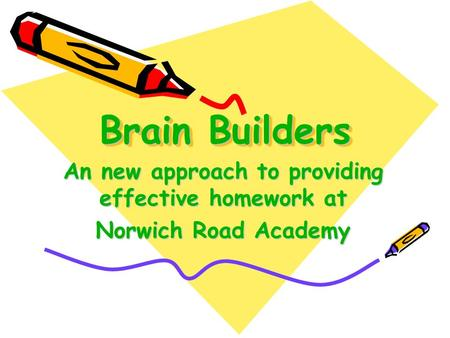 An new approach to providing effective homework at