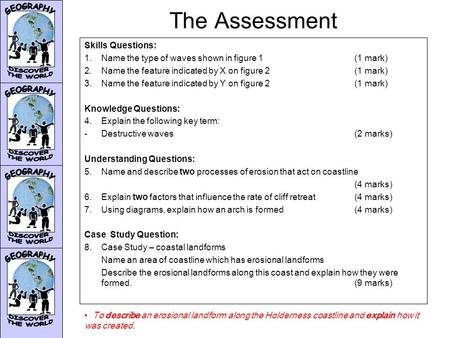 The Assessment Skills Questions: