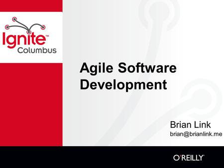 Agile Software Development Brian Link