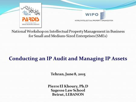 Conducting an IP Audit and Managing IP Assets