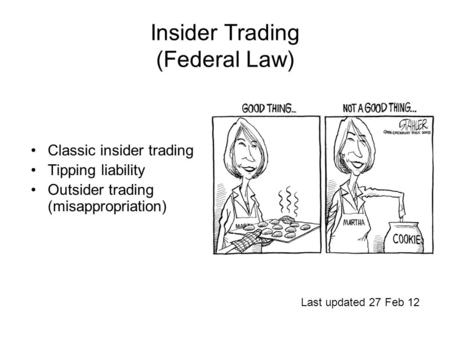 regulation of insider trading essay 17120 insider trading regulation: the us & eu this paper provides a comparative analysis of insider trading regulations in the united states and the european union (eu.