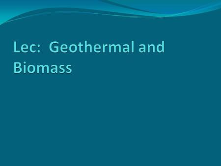 Geothermal Technologies Systems: Direct-use: A drilled well into a geothermal reservoir to provide a steady stream of hot water. Deep reservoirs to.