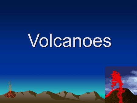 Volcanoes Volcanoes I. Volcano: An opening in the earth's crust through which magma flows out as lava Magma that comes to surface orignates from the.