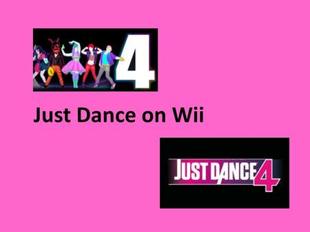 Just Dance on Wii. Aims and objectives: * One main theme (dance) aimed at KS2 connecting the subjects below: * Core subjects: Literacy and Science * Foundation.