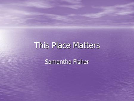 This Place Matters Samantha Fisher. The Imperial Centre for the Arts and Crafts 270 Gay Street 270 Gay Street Rocky Mount, NC 27804 Used to be a combination.