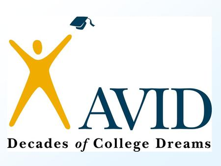 The Mission of AVID swill succeed in the most rigorous curriculum, swill enter mainstream activities of the school, swill increase their enrollment in.