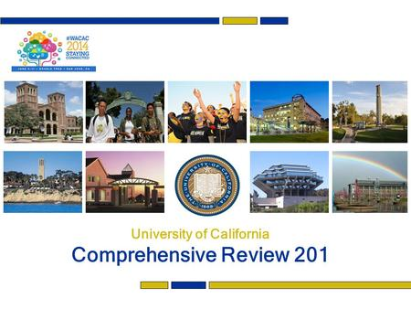 University of California Comprehensive Review 201.