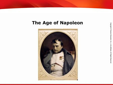 TEKS 8C: Calculate percent composition and empirical and molecular formulas. The Age of Napoleon.