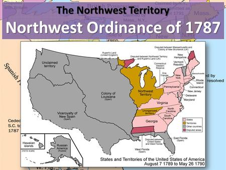 The Northwest Territory Northwest Ordinance Of 1787