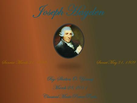 An introduction to the life and history of ludwig van beethoven