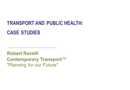 Advanced Topics in Environmental Health and Air Pollution Case Studies