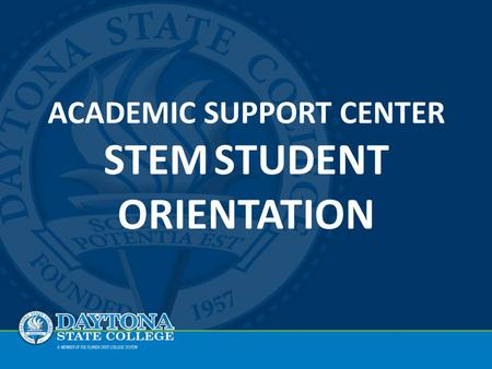 ASC Orientation Agenda Mission and Overvie w Locations & Hours Closing & Questions Services & Support.