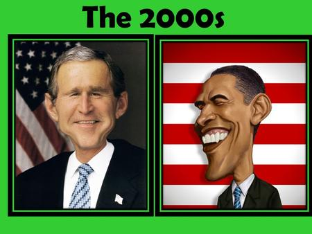 The 2000s. President George W. Bush  The shift of southern white conservatives after the 1960s made the Republican Party more conservative; political.