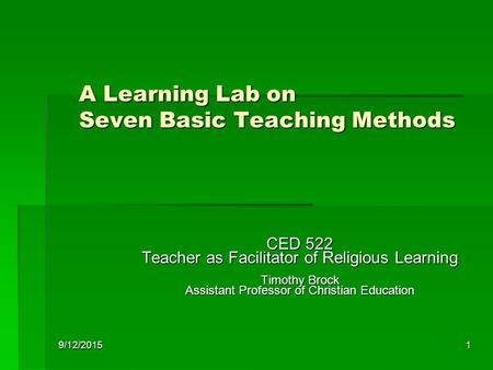 Beliefs and teachings