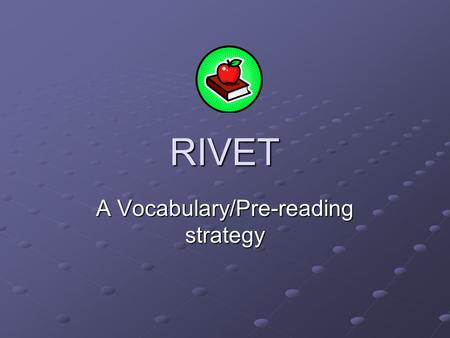 A Vocabulary/Pre-reading strategy