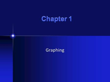 Chapter 1 Graphing. Types of Graphs Type of Graph What does it show?Example Drawing Scatterplot Bar graph Pie graph Line graph used to determine if two.