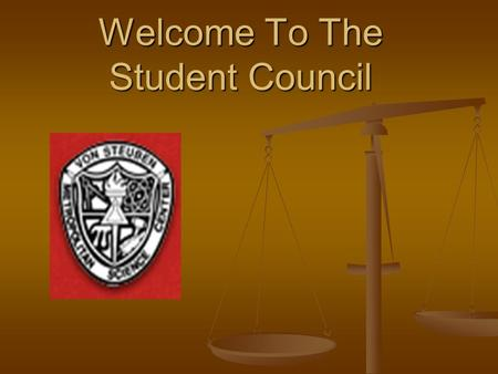 Welcome To The Student Council. Our Goals To represent the student bodies To represent the student bodies To create school events to enhance school spirit.